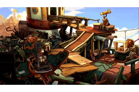 Deponia - Test / Review von GameStar (Gameplay) - YouTube