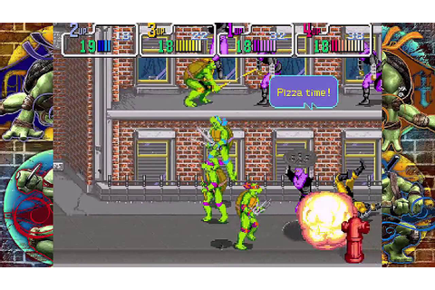 TMNT 1989 Arcade (XBLA) - CO-OP Playthrough (Part 1/4 ...
