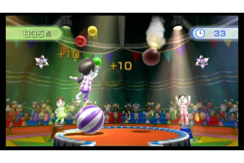 Wii Fit Plus Juggling ジャグリング Nintendo Fitness Game Play HD ...