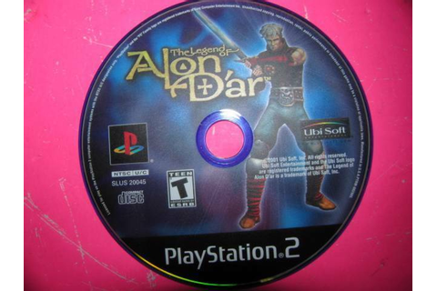 THE LEGEND OF ALON D'AR ~ SONY PLAYSTATION 2 (PS2) GAME ...