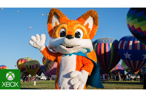 Super Lucky's Tale Hot Air Balloon World Record Highlights ...