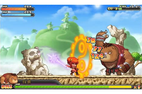 MapleStory 3DS Downsizes Cute MMORPG Into Single-Player ...