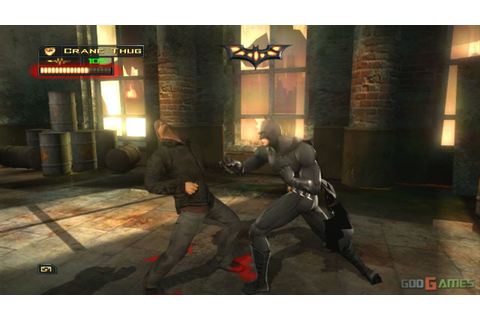 Batman Begins - Gameplay Xbox HD 720P - YouTube