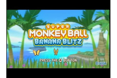 Super Monkey Ball: Banana Blitz Nintendo Wii Review ...