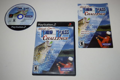 Mark Davis Pro Bass Challenge Playstation 2 PS2 Video Game ...