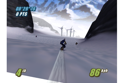 Twisted Edge Extreme Snowboarding Screenshots | GameFabrique