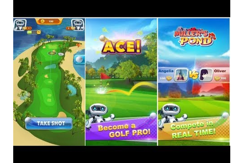 Golf Ace Game Android Gameplay - YouTube