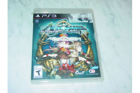 Ar Nosurge Ode To An Unborn Star PS3 Game! Scratch Free ...