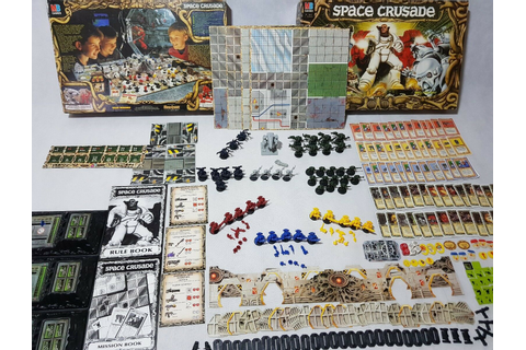 SPACE CRUSADE BOARD Game - 100% complete, prime condition ...