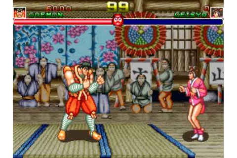 Shogun Warriors - play as Goemon - YouTube