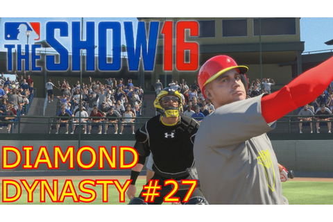 BEST GAME EVER | MLB The Show 16 | Diamond Dynasty PT.27 ...