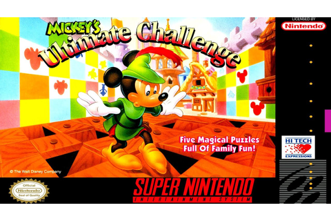 Mickey's Ultimate Challenge (Con Mickey) - Gameplay ...
