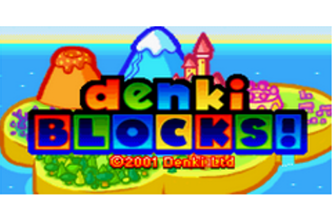Denki Blocks! Download Game | GameFabrique