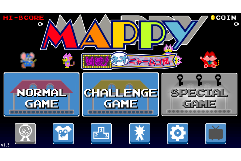 Mappy (Mobile Games) – Hardcore Gaming 101