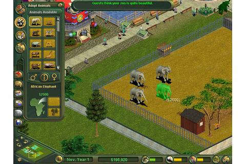 FREE DOWNLOAD ZOO TYCOON - All Games COLLECTION FOR PC ...