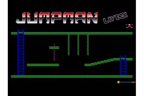 Jumpman Lives! gameplay (PC Game, 1991) - YouTube