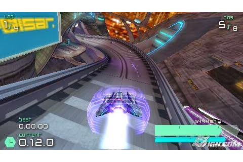 Full PSP Game Wipeout Pure Racing Game For Playstation ...