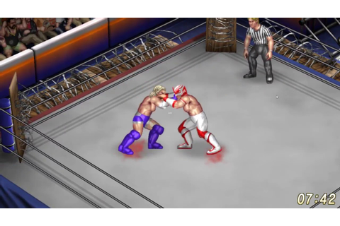 Fire Pro Wrestling World Gameplay (PC game) - YouTube
