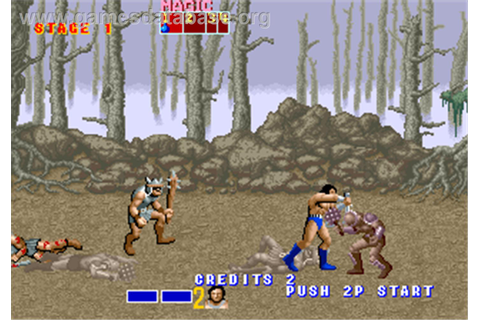 Golden Axe - Arcade - Games Database