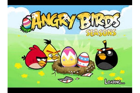 New Android Game Angry Birds Seasons - Play The Final ...