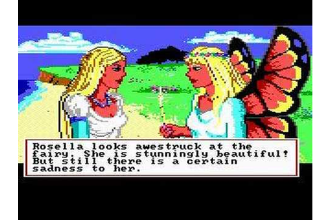 King's Quest IV: The Perils of Rosella Trailer - YouTube
