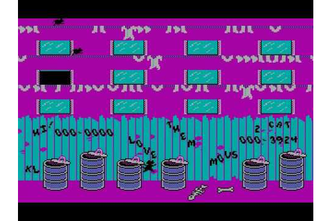 Alley Cat - [MS-DOS] - YouTube