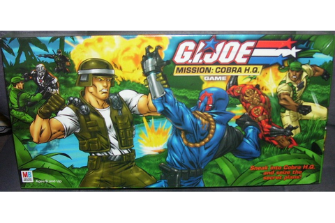 G. I. Joe Mission: Cobra H.Q. Board Game NEW! 2002 by ...