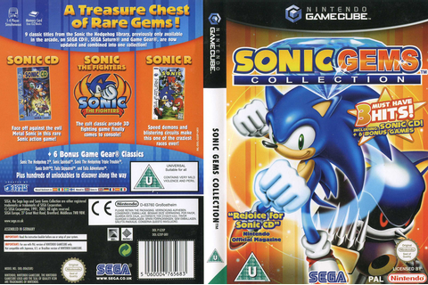 G2XP8P - Sonic Gems Collection