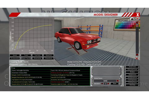 Automation Game Build 1323 - Recreating the BMW E-30 325i ...