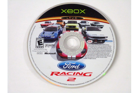 Ford Racing 2 game for Xbox (Loose) | The Game Guy
