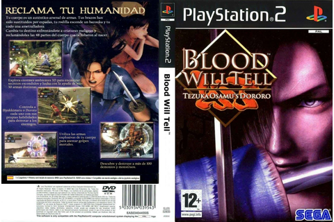 GAME PS2: BLOOD WILL TELL