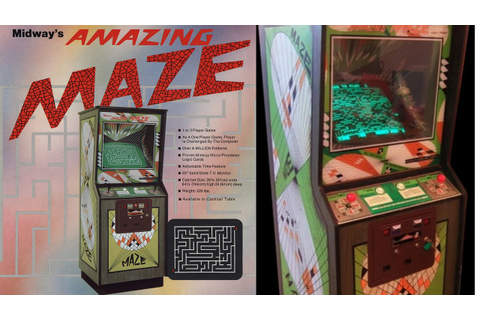 The Amazing Maze Game | Arcade/Gameplay/Full HD | Midway ...