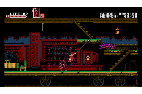Bloodstained: Curse of the Moon Review (Switch eShop ...