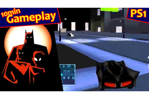 Batman: Gotham City Racer ... (PS1) - YouTube