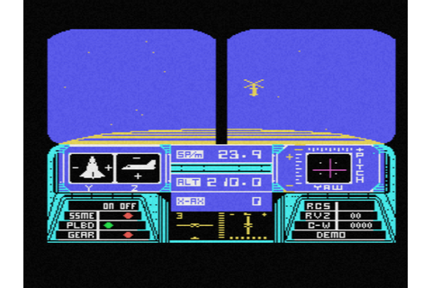 Space Shuttle - A Journey into Space (1986, MSX ...