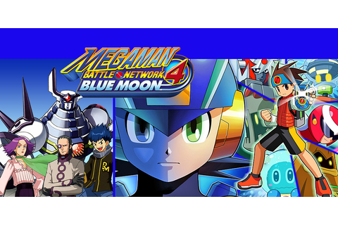 Mega Man Battle Network 4 Blue Moon | Game Boy Advance ...