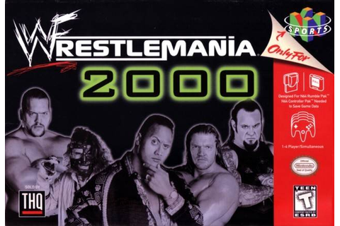WWF WrestleMania 2000 | Nintendo | FANDOM powered by Wikia
