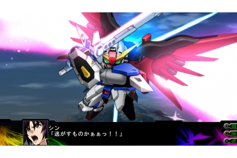 3rd Super Robot Wars Z debut screenshots - Gematsu