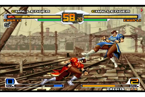 SVC Chaos: SNK vs. Capcom Download Game | GameFabrique