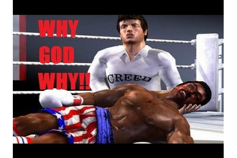 WHY GOD WHY: Rocky The Game - YouTube