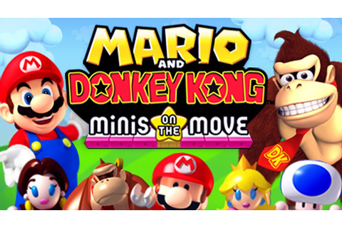 REVIEW - Mario & Donkey Kong: Minis on the Move - YouTube