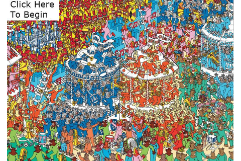 Where's Waldo? (Clickable Picture) Quiz - By Stanford0008