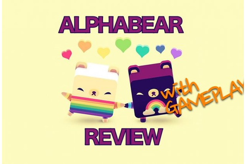 'Alphabear' Word Puzzle Game is Adorable Fun - That Moment In