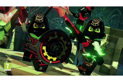 The LEGO® NINJAGO™ Movie Video Game Dojo Trailer - YouTube