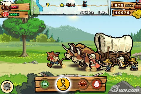 'The Oregon Trail' Coming to iPhone (Screenshots ...