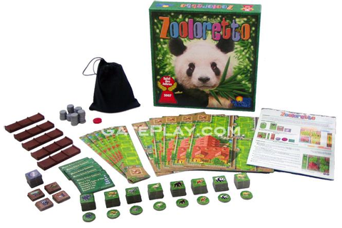 Zooloretto Board Game - Rio Grande Games - Michael Schacht - GatePlay ...