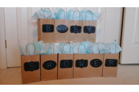 DIY Baby Shower Games - BABY SHOWER BAG Game - YouTube