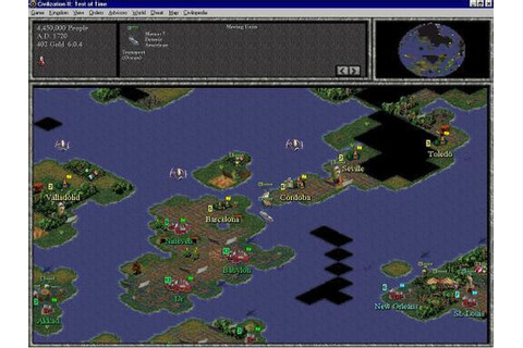 CIVILIZATION II TEST OF TIME +1Clk Windows 10 8 7 Vista XP ...