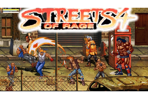 Streets of Rage 4 (GAMEPLAY) - YouTube