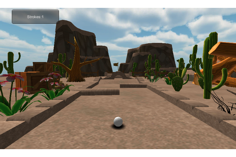 Cartoon mini golf games desert | Download APK for Android ...